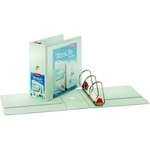 XtraLife ClearVue Non-Stick Locking Slant-D Ring Binder